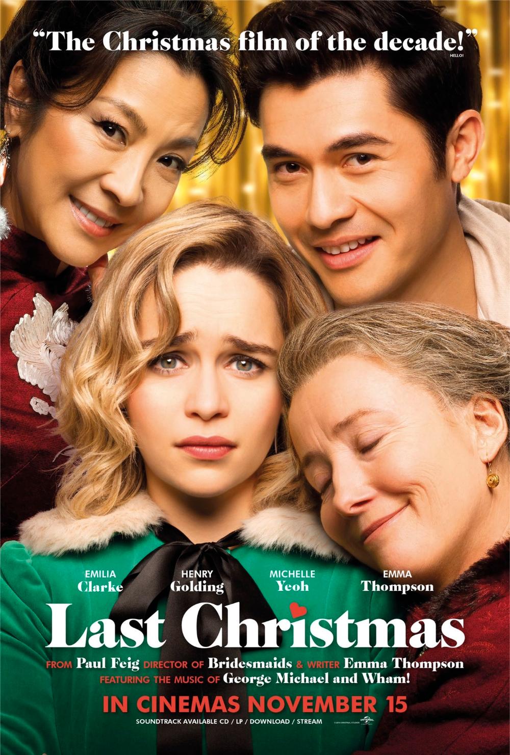 Постер фильма Рождество на двоих Emma thompson, Last