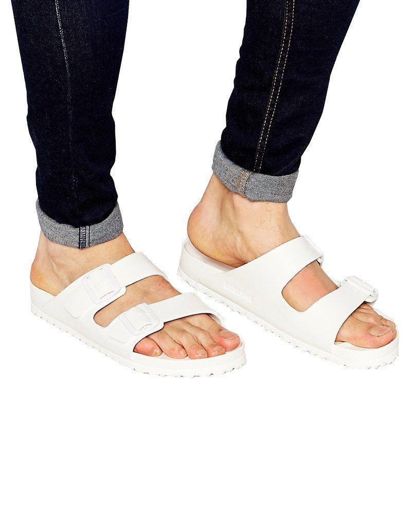 e5d597c72ee0 Birkenstock White Arizona Sandals