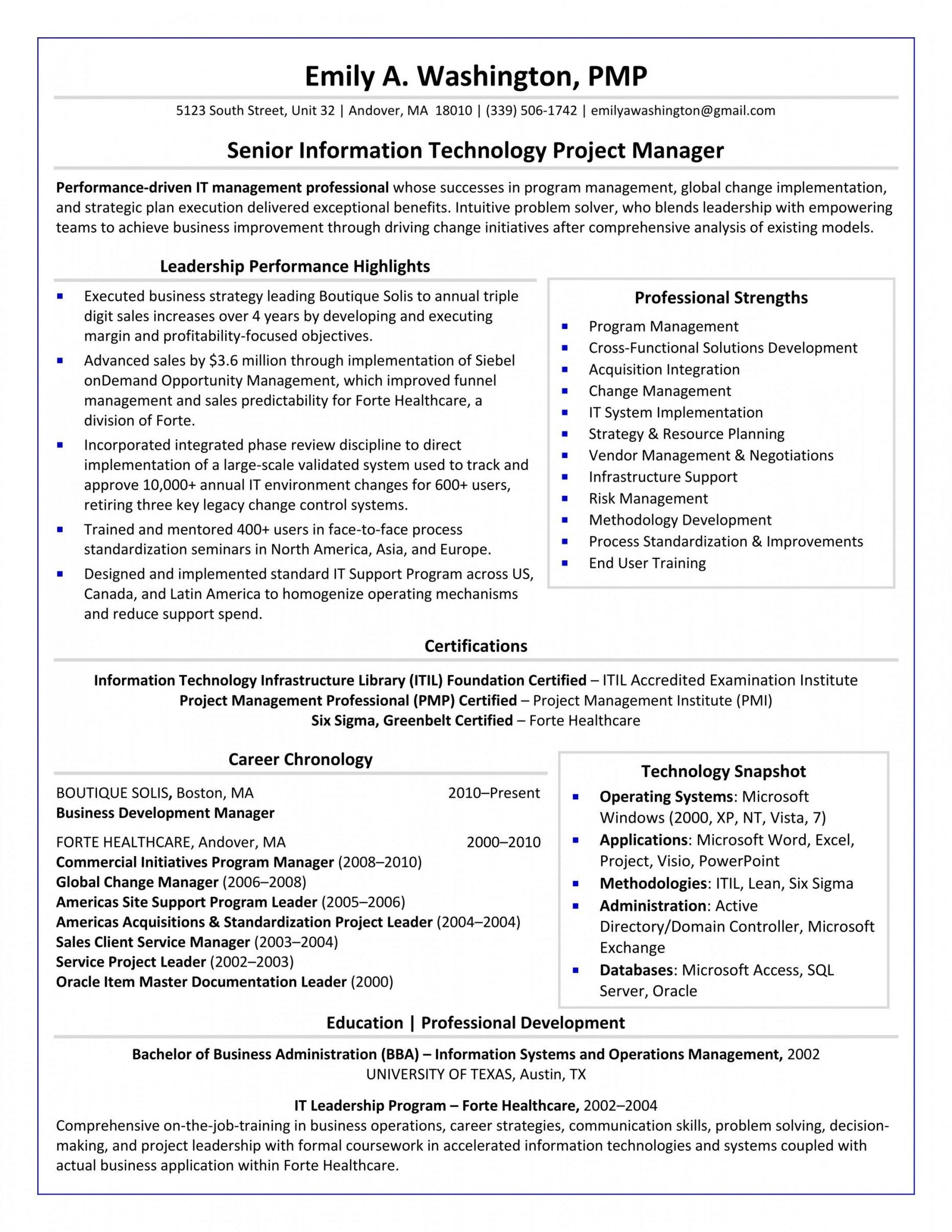 Resume Format Guidelines Format Guidelines Resume