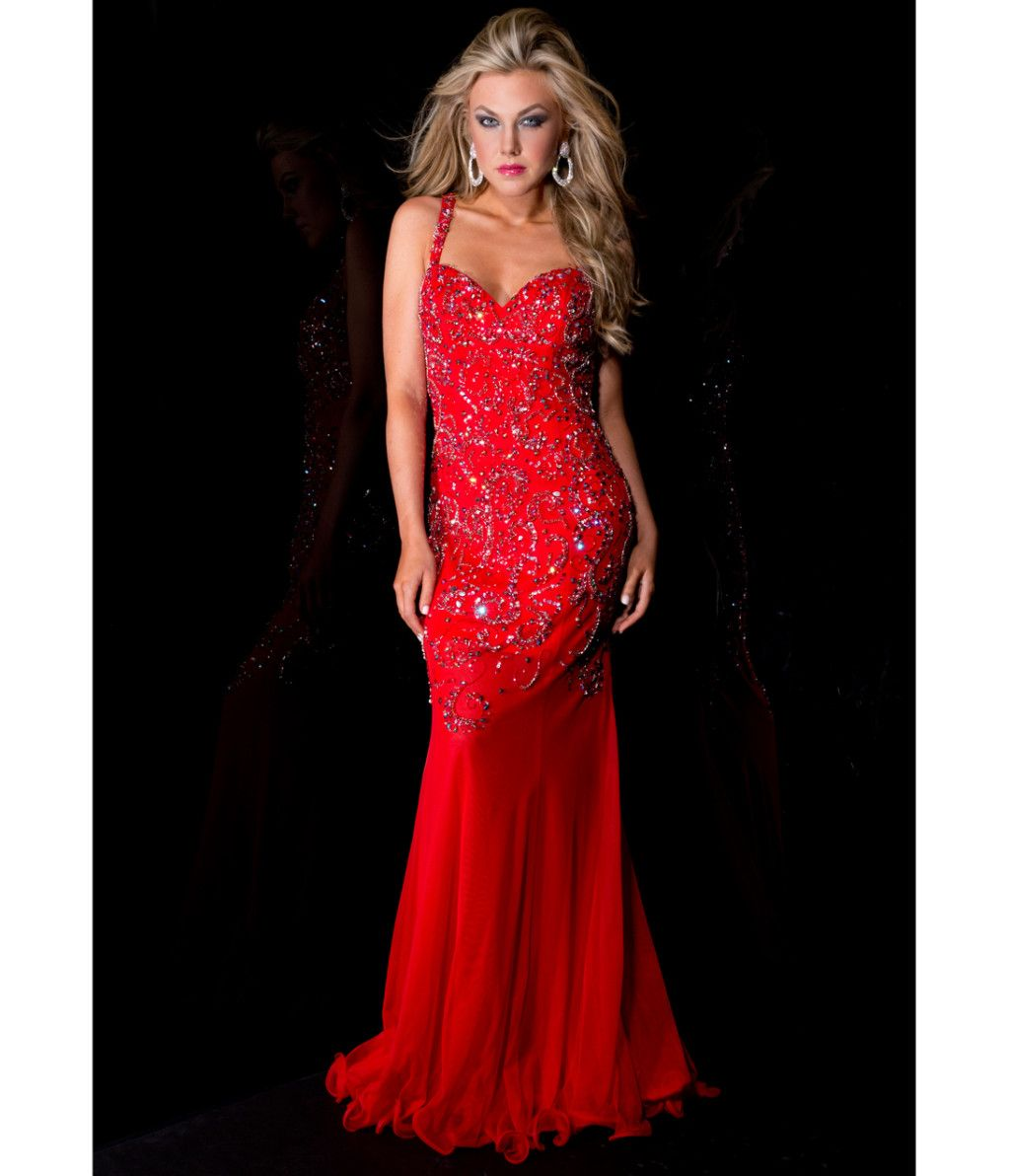 Vintage Prom Dresses Under 100 Red | Prom Dresses Design | Pinterest ...