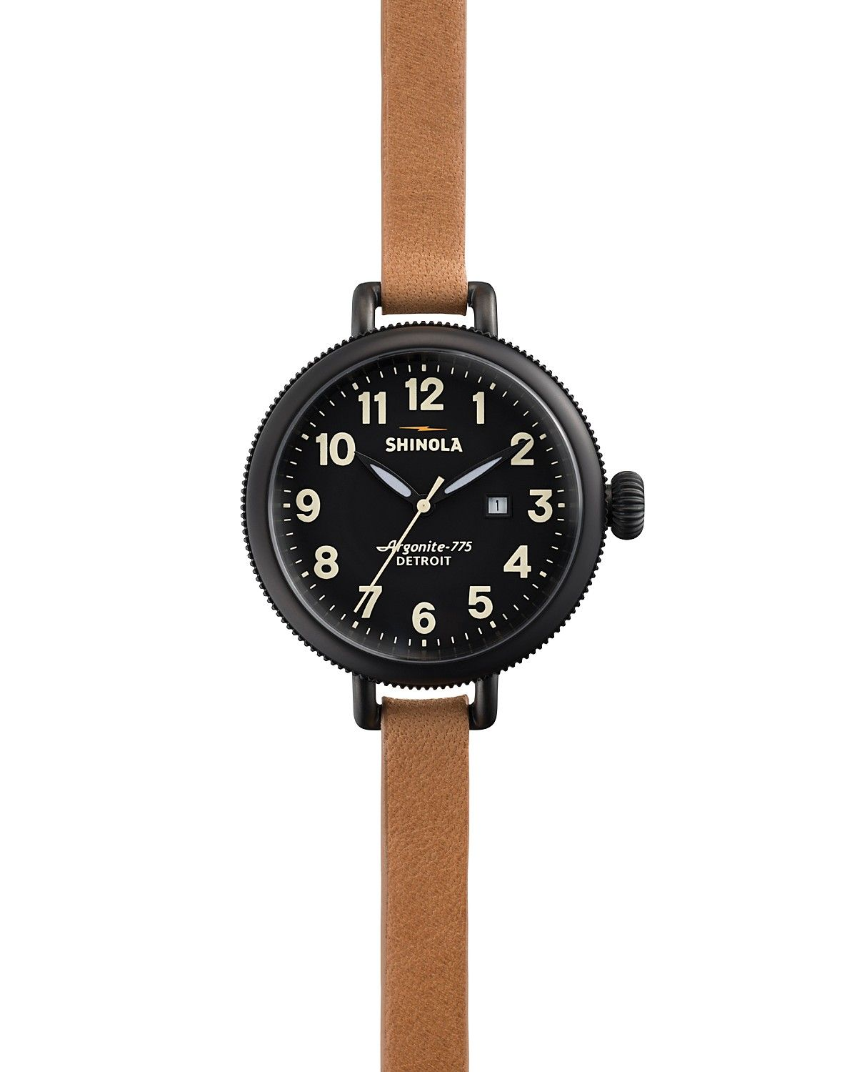 Shinola The Birdy Natural Strap Wrap Watch, 34mm | Bloomingdale's
