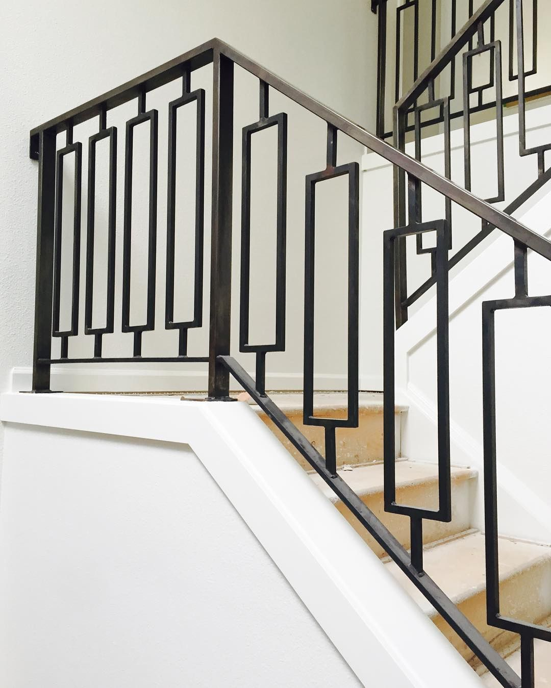 Love These Stairs Staircase Railing Design Modern Stairs | Ladder Railing Design Iron | Balcony | Wrought Iron | Railing Ideas | Metal | Baluster