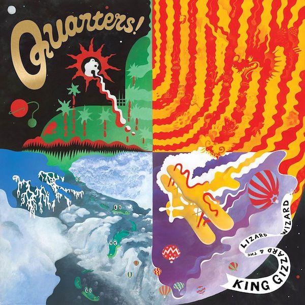 King Gizzard And The Lizard Wizard - Quarters - Die Pforten der Wahrnehmung - http://www.musikblog.com/2015/05/king-gizzard-lizard-wizard-quarters-die-pforten-der-wahrnehmung/ #KingGizzardAndTheLizardWizard