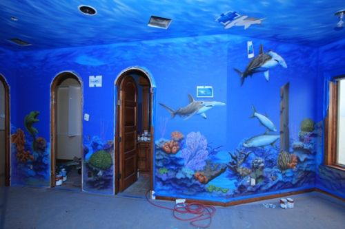 Beach And Ocean Themed Rooms Room Ideas Ocean And Bedrooms