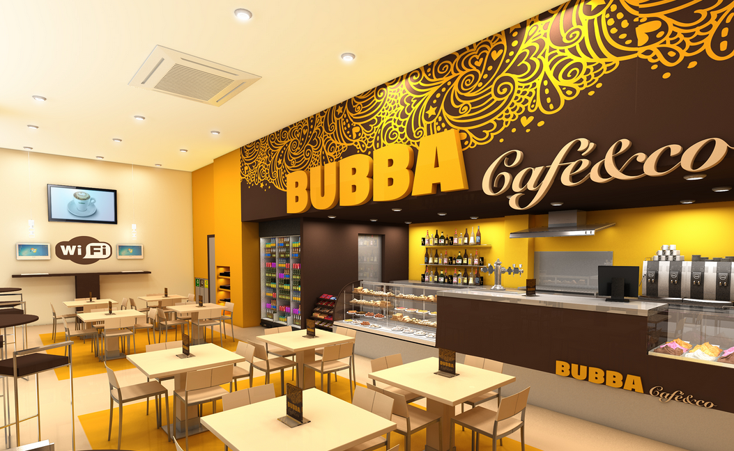 Proyecto de interior para una cafeteria en c diz - Decoracion de cafeterias ...