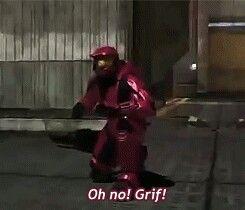 Grif almost gets shot