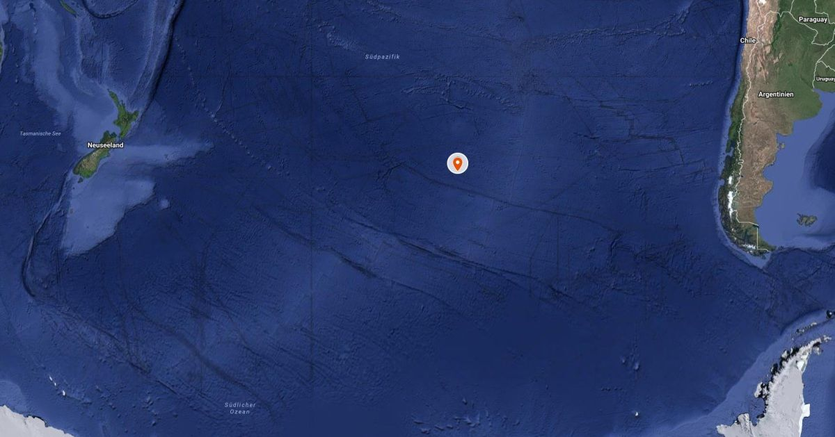 Point Nemo – Der isolierteste Punkt auf der Erde