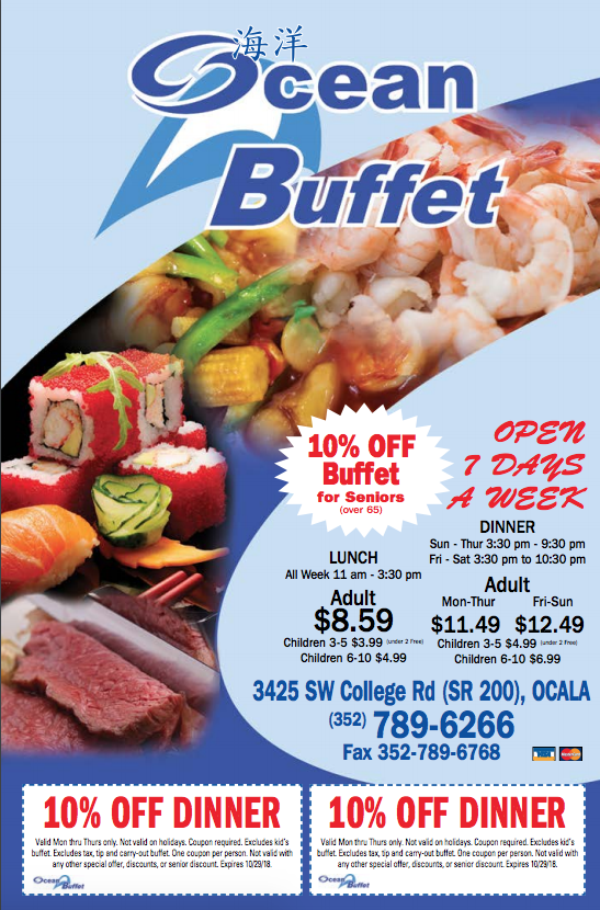 Ocean Buffet Restaurant Deals Food Food Coupon