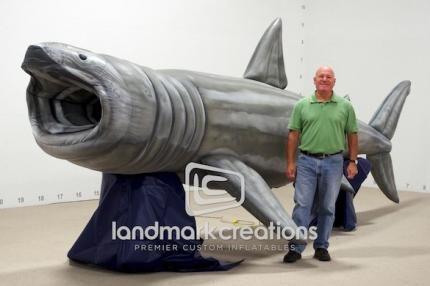 Inflatable Basking Shark Replica Sharks Museum Zoo Aquarium Inflatables Educational Basking Shark Shark Inflatable Shark