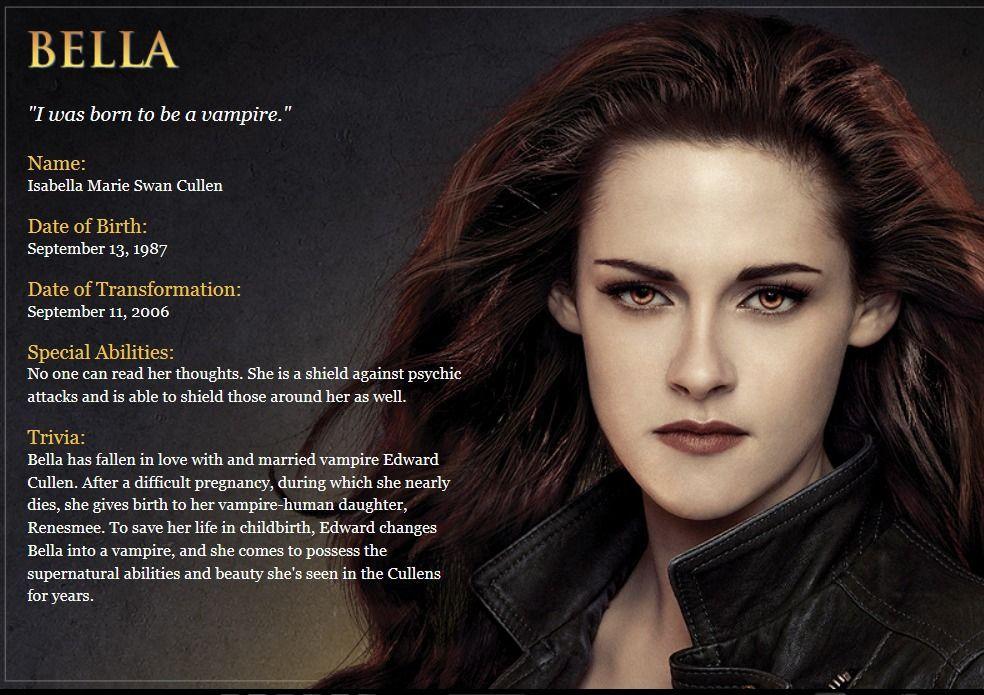 Full name : Rosalie Lillian Hale Status : Vampire Group