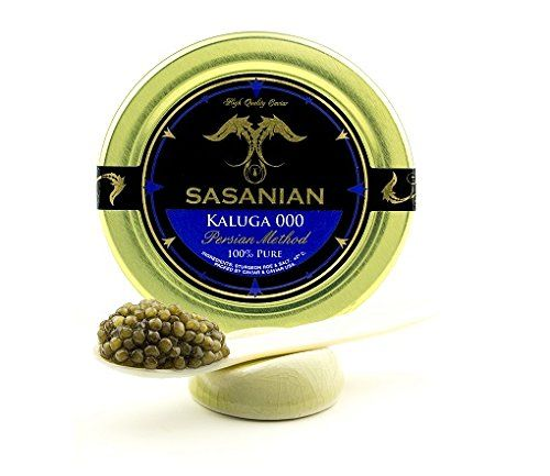 LIMITED TIME OFFER! Fresh River Beluga Caviar/ Kaluga hybrid - Malossol 1 oz Jar >>> Read more by clicking on the image  at Quick dinner ideas board
