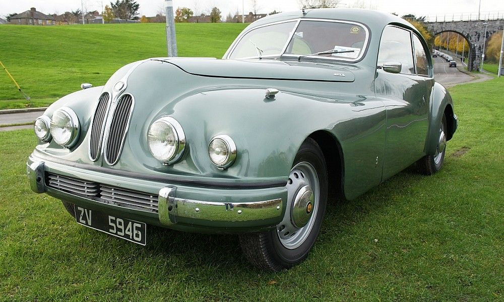 Cambridge Gray: 1954 Bristol 403