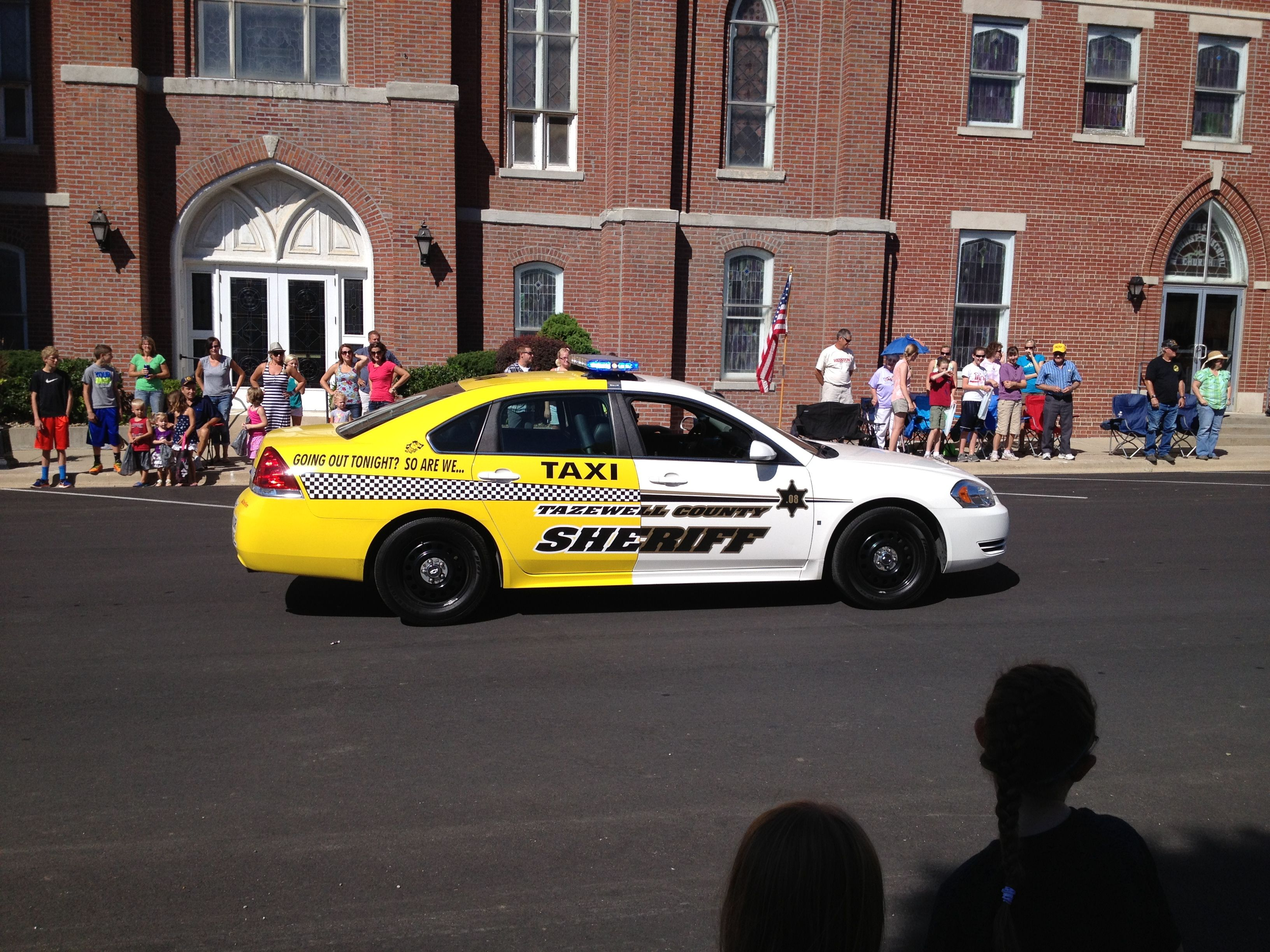 Sheriff Tazewell County Illinois - unique paint scheme on police car ...