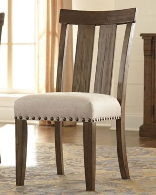Wendota Dining Room Chair Set Of 2 By Ashley Homestore Grayish