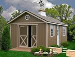 North Dakota Shed Kit workshop barn lawn garden shed storage building