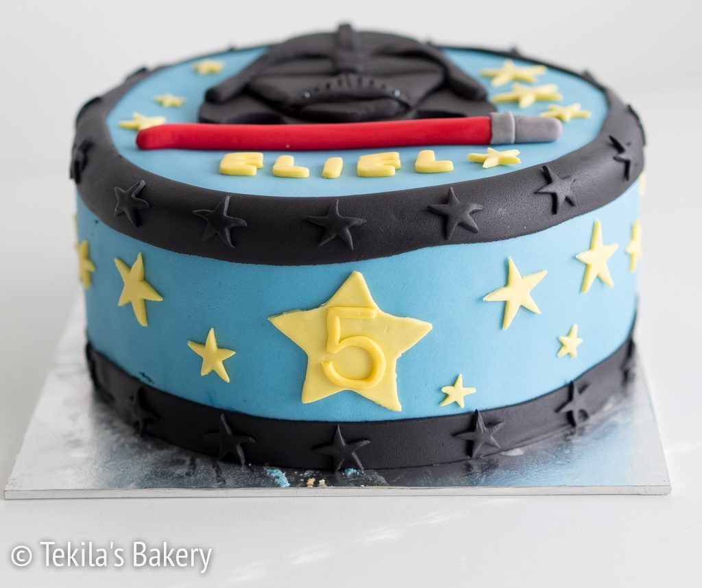 Star Wars, Darth Vader cake. www.tekila.fi