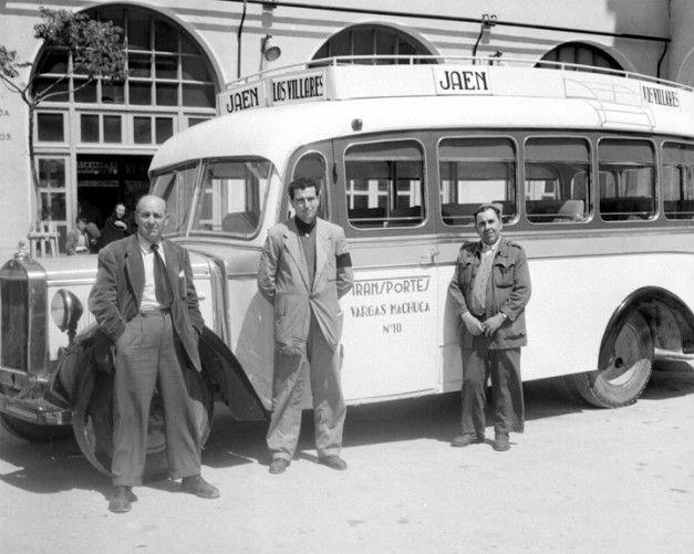 El blog de tuico autobuses antiguos jaen antiguo pinterest fuentes blog y b squeda - Tiempo los villares jaen ...