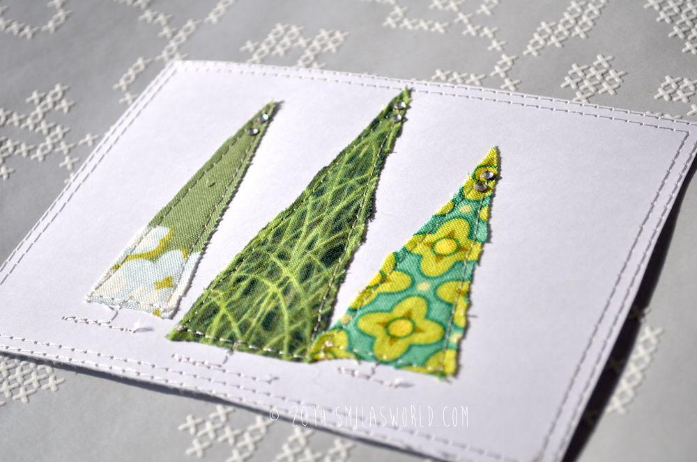 Weihnachtskarten nähen | Weihnachten | Pinterest | Weihnachtskarten ...