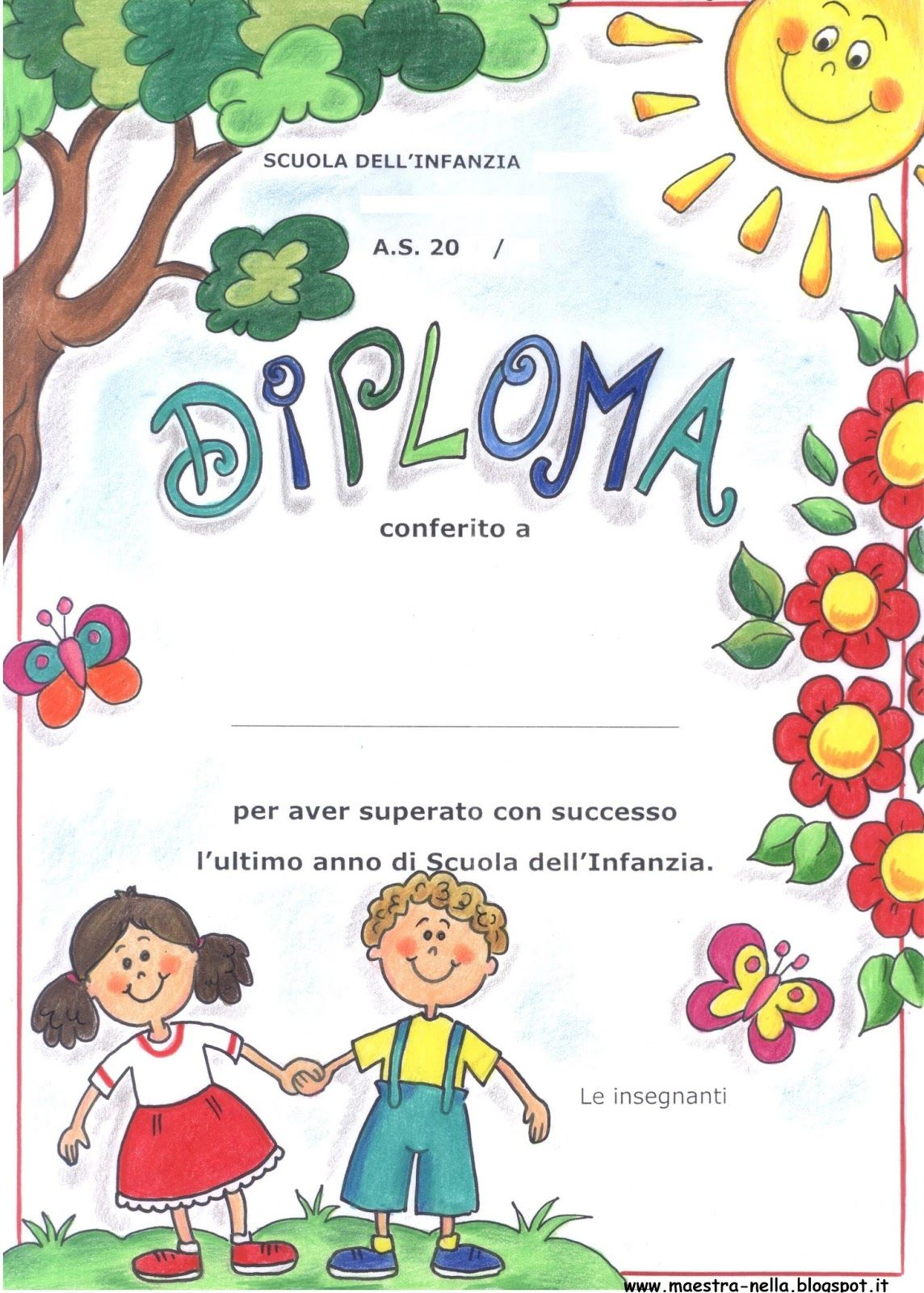Image Result For Diplomi Infanzia