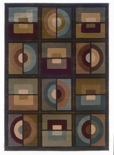 "Oriental Weavers Aura Geometric Area Rug 7' 8"" x 10' 10"" at Menards"