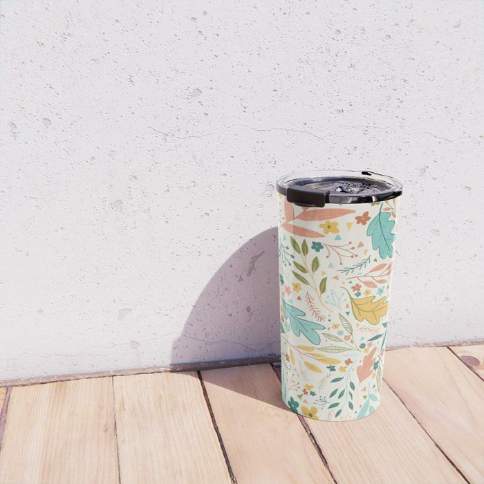 Summer pastel palette Travel Mug