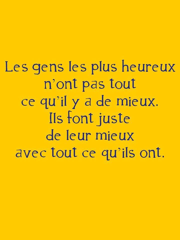 Pensee Bonheur Citation Citation Humour Je Pense A Toi