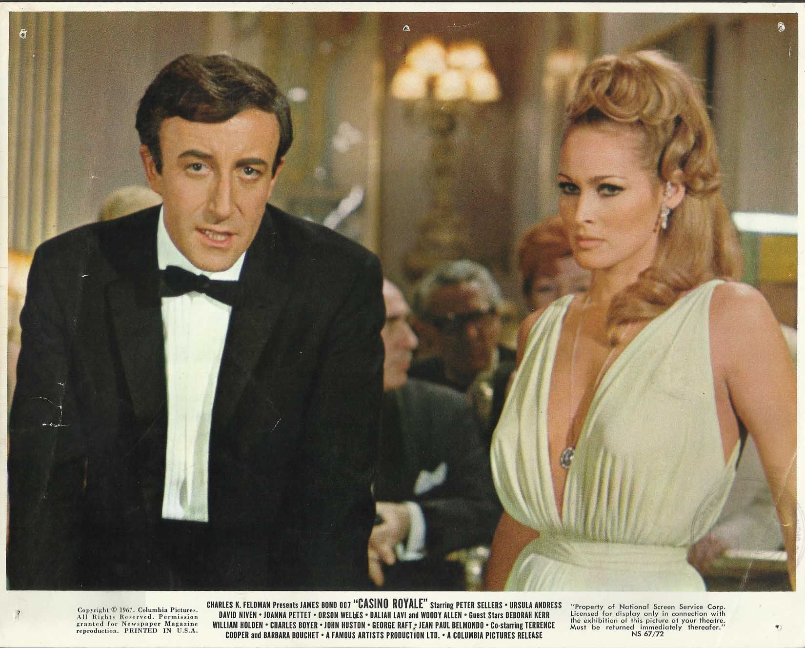 Cast of first casino royale