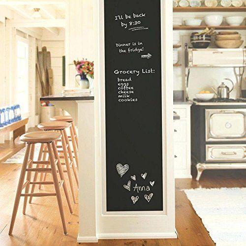Reusable Blackboard Vinyl Wall Self Adhesive Chalkboard  Sticker Removable