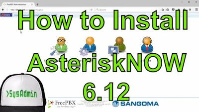 How to Install AsteriskNOW Free IP PBX 6 12 + VMware Tools
