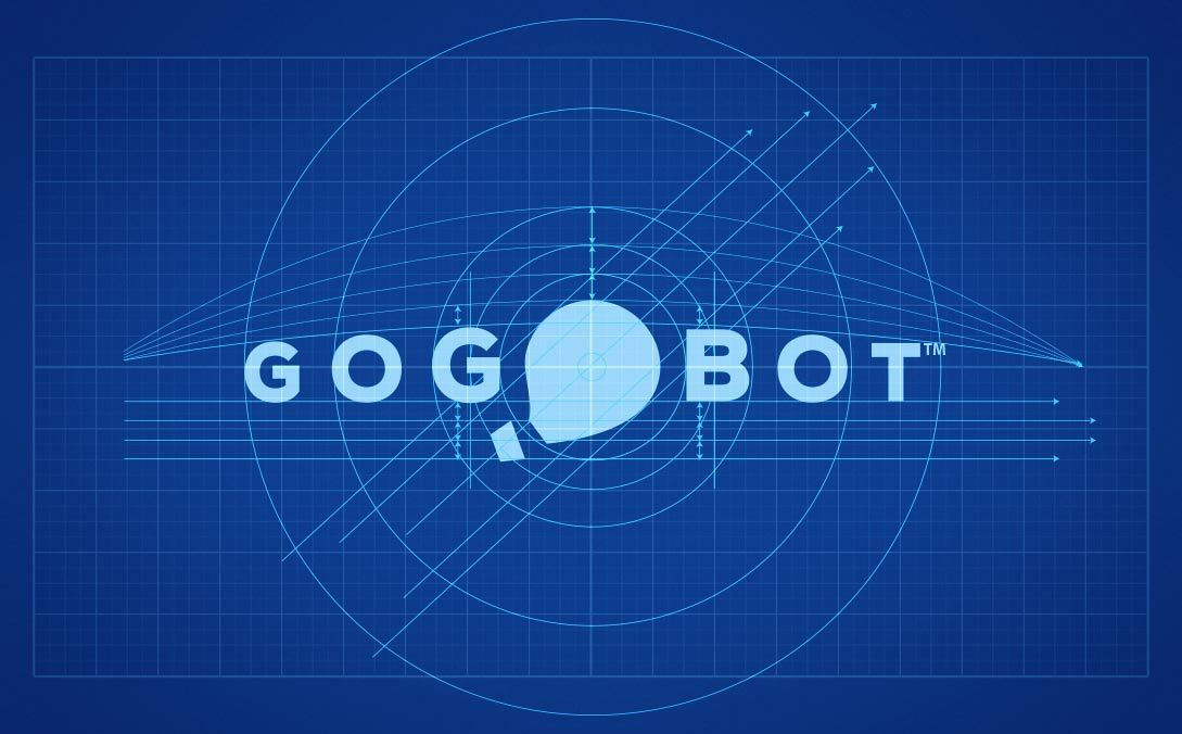 Gogobot logo design blueprint by the logo smith freelance logo gogobot logo design blueprint by the logo smith freelance logo designer malvernweather Images