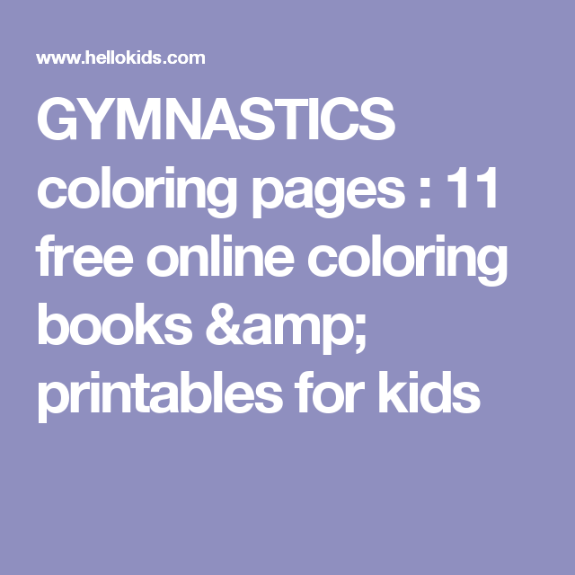 gymnastics coloring pages 11 free online coloring books printables for kids