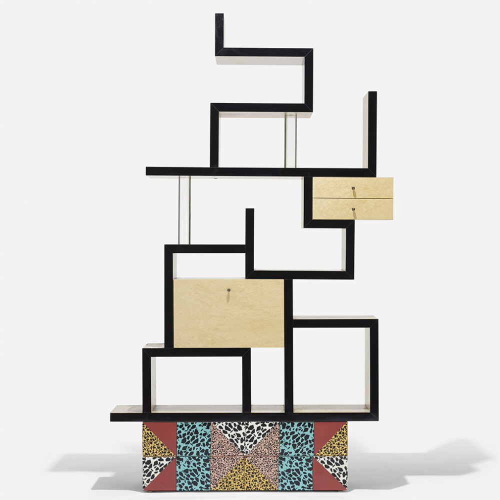 A huge haul of Memphis design is up for auction at Wright #memphisdesign A huge haul of Memphis design is up for auction at Wright - The Spaces #memphisdesign