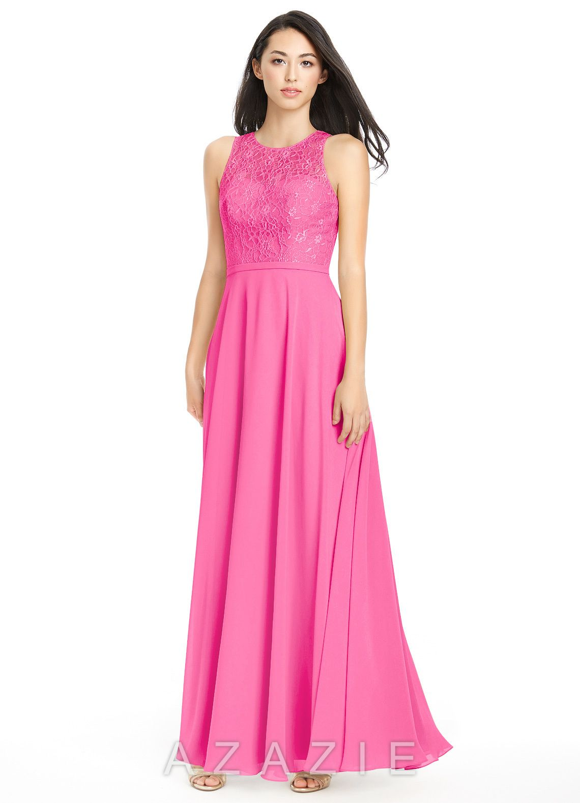 56eeb280216 Shop Azazie Bridesmaid Dress - Frederica in Chiffon. Find the perfect  made-to-order bridesmaid dresses for your bridal party in your favorite  color