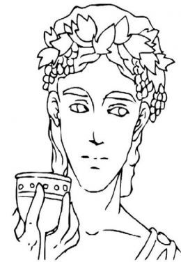 Greek Gods Kids Coloring Pages And Free Goddess Goddesses