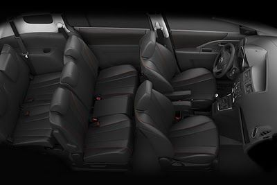 There Is Plenty Of Room Inside The 2012 Mazda 5 Passenger