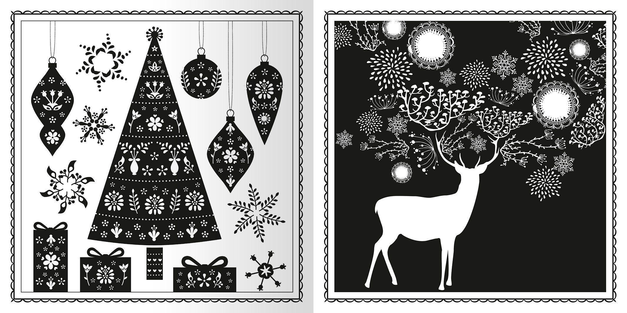 Wintertraum & Weihnachtszauber: Wunderbares zum Ausmalen Malprodukte für Erwachsene: Amazon.de: Bücher