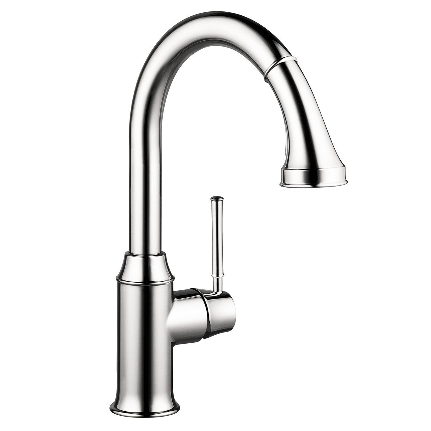 Hansgrohe 04215800 steel Optik Talis C Pull-Down Kitchen Faucet with ...
