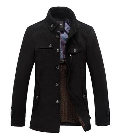cool Wantdo Men's Winter Wool Blend Pea Coats - For Sale Check ...