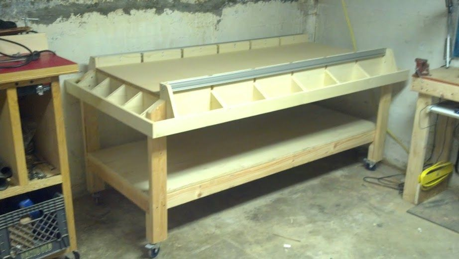 Base Table For Shapeoko Cnc Solid Legs Y Rail Supports And