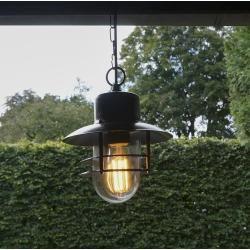 Aussenleuchte Shell Hangend Antik Klassisch Antik Landhaus Vintage Rustikal E27 Qazqaqazqa Lampenlicht Dekorative Lampen Und Aussenlampen
