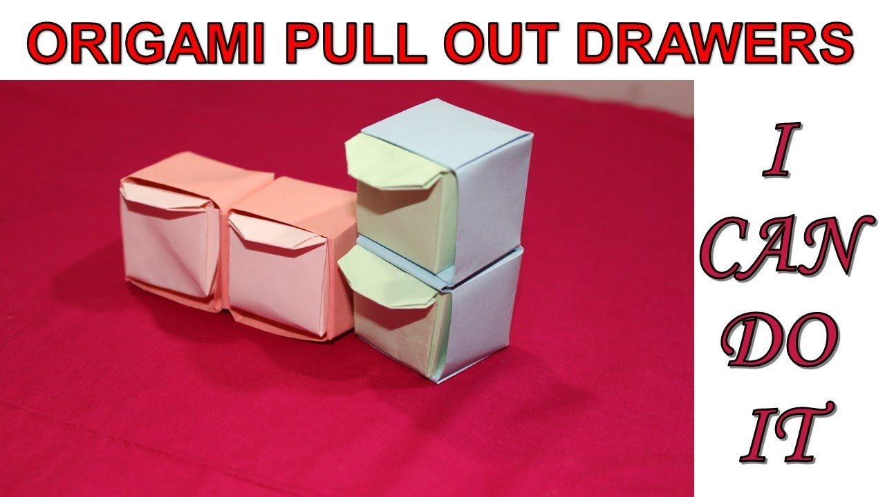 Origami Pull Out Drawers | Paper Craft for decoration purpose and kids project etc | I CAN DO ITOrigami Pull Out Drawers | Paper Craft for decoration purpose and kids project etc | I CAN DO IT Hello viewers, in this video I am going to show you h... #craft #decoration #Drawers #kids #kidsbedroom #kidsroom #kidsroomdesign #kidsroomideas #kidsroomsdecor #kidsroomstorage #Origami #Paper #Project #Pull #purpose #roomdecor