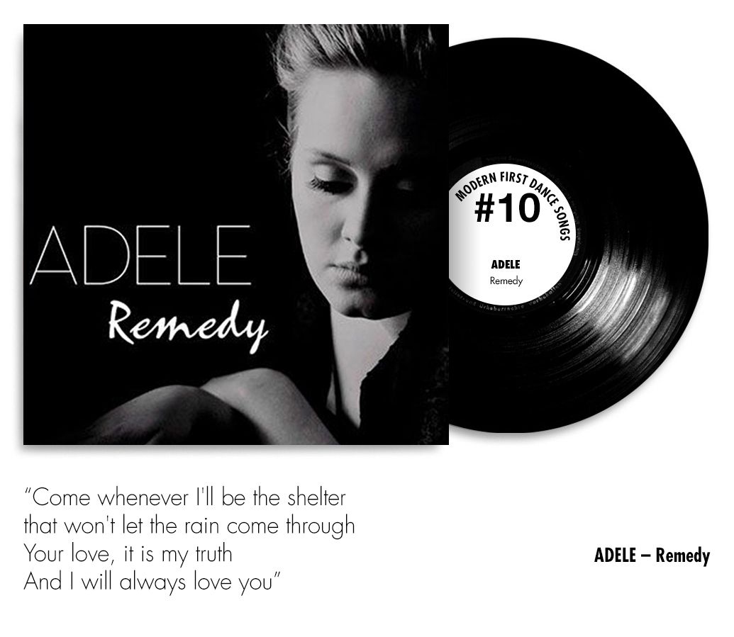 10 Modern First Dance Songs For 2016 Adele Remedy Chwv