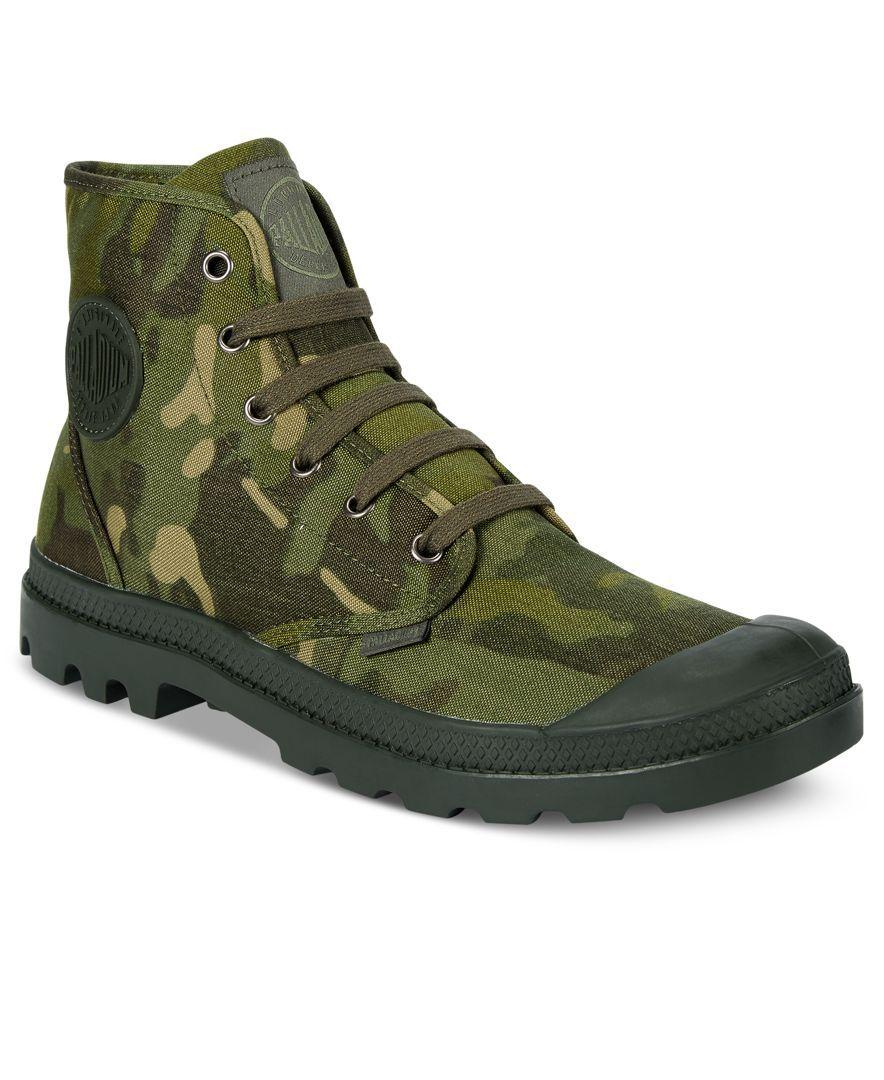 Palladium Men's Pampa Tropic Camo Boots - All Men's Shoes - Men - Macy's