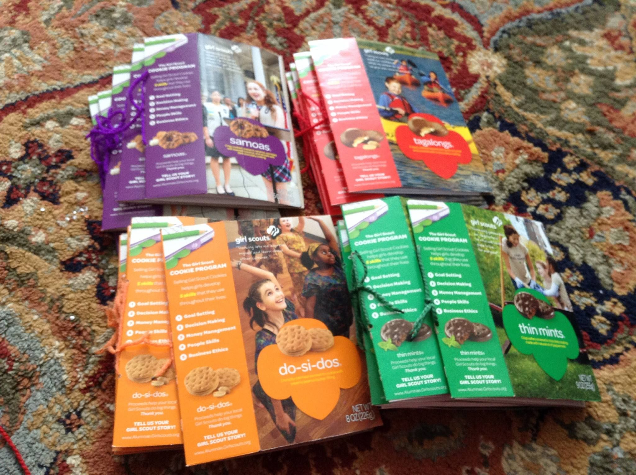 girl scout cookie craft ideas cookie cook books made out of cookie boxes scout 6633