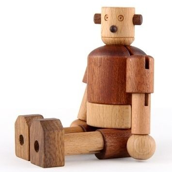 Eco Wooden Robot by My Sweet Muffin
