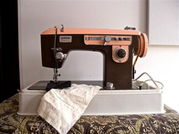 Brother Charger 40 Vintage Sewing Machine Pinterest Vintage Extraordinary Brother Charger 651 Sewing Machine Manual