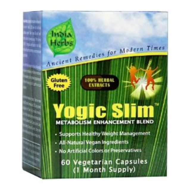 I'm learning all about India Herbs Yogic Slim For Weight Loss 1 Month Supply at @Influenster!