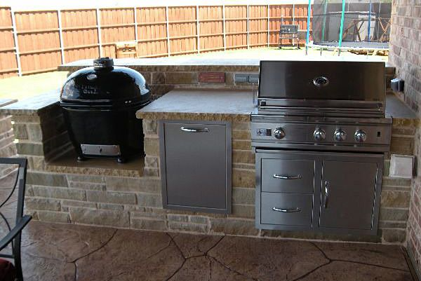 Outdoor kitchens and grills cc9 outdoor kitchen for Gasgrill fur outdoor kuche