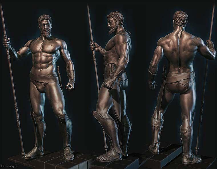 Pixologic ZBrush Gallery: King Leonidas | 3D in 2019