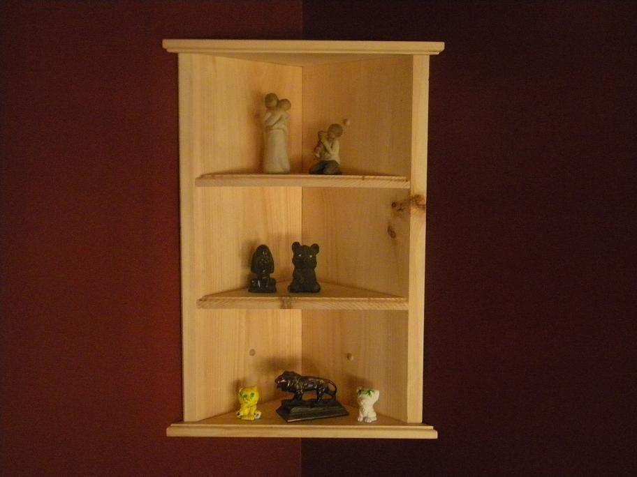 Wall Hanging Corner Shelf By Customwoodconcepts On Etsy 49 99 Wall Mounted Corner Shelves Wall Mounted Shelves Wall Bookshelves